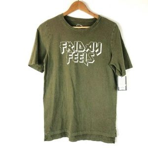 Art Class Boys XL Short Friday Feels Metal Green